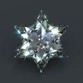 Star of David diamond