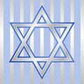 Star of David for Hanukkah Royalty Free Stock Images