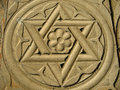 Star of David - Judaism Royalty Free Stock Photo