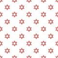 Star of david judaism pattern seamless