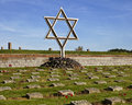 Star of David Memorial Stock Photography