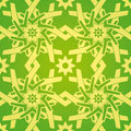 Star Flower Geometric Seamless Pattern Royalty Free Stock Image