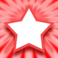 Star frame Royalty Free Stock Photo