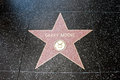 The star of garry moore on walk fame on hollywood blvd los angeles california Royalty Free Stock Photo