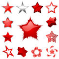 Star graphics vector Stock Images