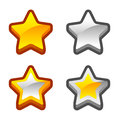 Star icons for your game check my profile for more game graphics Royalty Free Stock Images