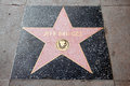 The star of jeff bridges on walk fame on hollywood blvd los angeles california Royalty Free Stock Photography