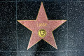 The star of lassie on walk fame on hollywood blvd los angeles california Stock Photography