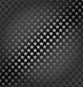Star lite seamless dynamic metal background Royalty Free Stock Photo