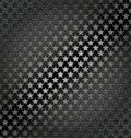 Star lite seamless dynamic metal background Royalty Free Stock Photo