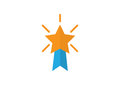 Star medals icon