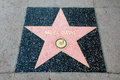 The star of miles davis on walk fame on hollywood blvd los angeles california Royalty Free Stock Photos