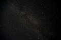 Star night sky galaxy with there re two brighter starts looks like eyes Royalty Free Stock Photo