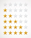 Star rating Royalty Free Stock Photos