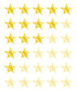 Star rating for 0 - 5 stars. Best rating
