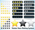 Star Rating System Royalty Free Stock Photo