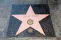 The star of ringo starr on walk fame on hollywood blvd los angeles california Stock Photo