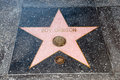 The star of roy orbison on walk fame on hollywood blvd los angeles california Stock Photography