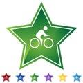 Star Set - Bicycle Royalty Free Stock Photo