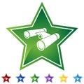 Star Set - Binoculars Royalty Free Stock Photo