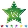Star Set - Leaf Royalty Free Stock Photo