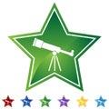 Star Set - Telescope Royalty Free Stock Photo