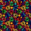 Star Shape Colorful Geometric ...