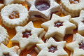 Star shape cookies Stock Photography