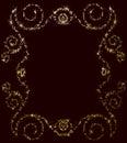 Star And Spangles Frame Backgr...