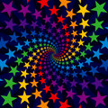 Star swirl burst Royalty Free Stock Photos