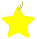 Star tag vector illustration Stock Image