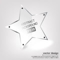 Star vector banner Royalty Free Stock Photo
