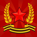 Star of Victory day Royalty Free Stock Photo