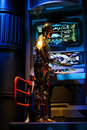 Star Wars' C-3PO at Disney's Hollywood Studios Royalty Free Stock Photo