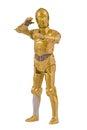 Star Wars character C-3PO Royalty Free Stock Photo