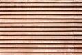 Stara drewniana wentylaci siatka Obrazy Stock