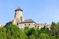 Stara lubovna castle slovakia europe Stock Photography