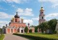 Staraya russa church of the resurrection city cathedral Stock Photo