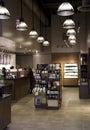 Starbucks koffiewinkel Stock Foto's