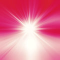 Starburst abstract red background Royalty Free Stock Photo