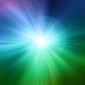 Starburst green abstract background Royalty Free Stock Photo