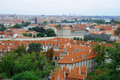 Stare Mesto and Mala Strana of Prague Royalty Free Stock Photos