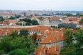Stare Mesto and Mala Strana of Prague Royalty Free Stock Photos