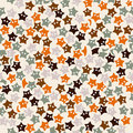 Starfish pattern Royalty Free Stock Images