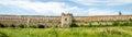 Staroselskiy slott i stirrandet selo i lviven Arkivbild