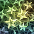 Starry background christmas made of geometric pattern Stock Photo