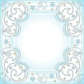 Starry frame Royalty Free Stock Photo