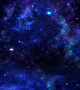 Starry night sky beautiful background of the with stars Stock Image