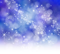 Starry Sparkly Bokeh background Royalty Free Stock Photo