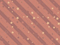 Starry and striped background holiday festive Royalty Free Stock Images